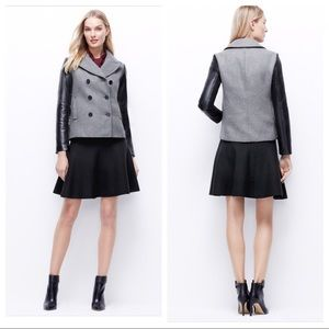 Ann Taylor Wool Blend Peacoat Jacket